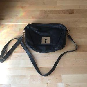 Black Leather Botkier Crossbody bag